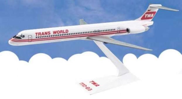 Flight Miniatures TWA McDonnell Douglas MD-80