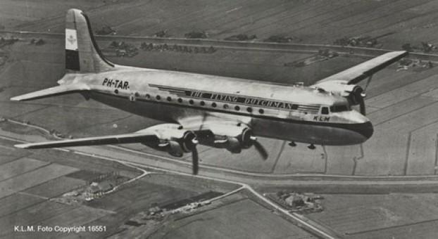 New! KLM Douglas DC-4 Skymaster PH-TAR Herpa Wings 559799 scale 1:200