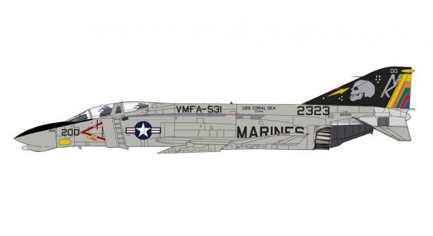 """Gray Ghosts"" F-4N Phantom II VMFA-531 USS Coral Sea Hobby Master HA19014 scale 1:72"