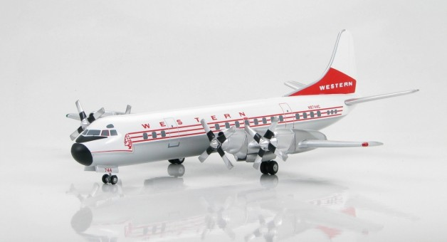 Western Airlines L- 188 Electra Scale 1:200