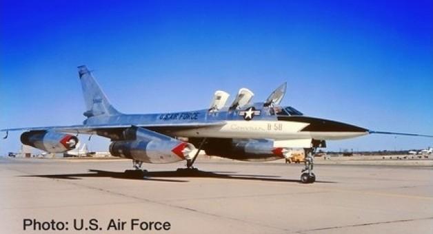 New Mould! USAF Convair XB-58 Prototype (B-58) Herpa 559850 1:200