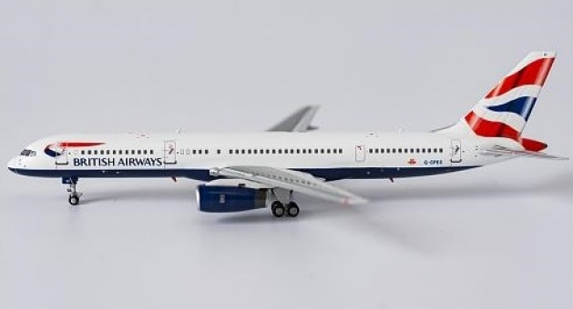 British Airways 752 G-CPES Union Flag NG Models 53093 scale 1:400