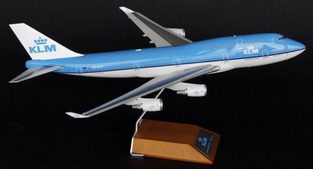 KLM Boeing 747-400 95th anniversary w/ Stand Reg# PH-BFH JC2KLM348 JCWings Scale 1:200