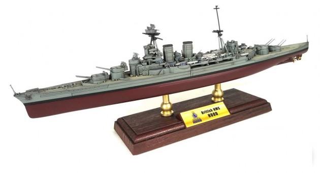 HMS Hood Royal Navy Admiral-class Battlecruiser Diecast FV-861002A 1:700