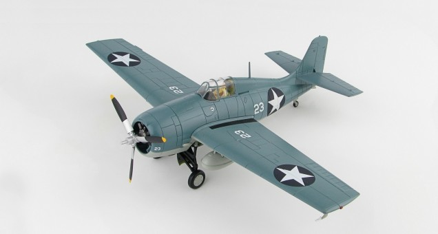 F4F-4 Wildcat Lt. Cdr John Thach, VF-3 USS Yorktown Battle of Midway June 1942 Hobby Master HA8902 Scale 1:48