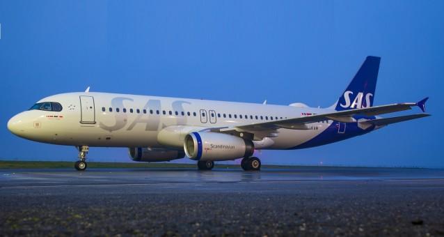 SAS Scandinavian A321-200 new livery OY-KBH JC4SAS257 JCWing Scale 1:400