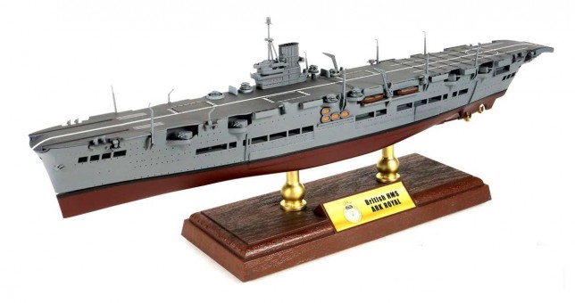 Ark Royal-class Carrier HMS Ark Royal Norway Die Cast FV-861009A 1:700