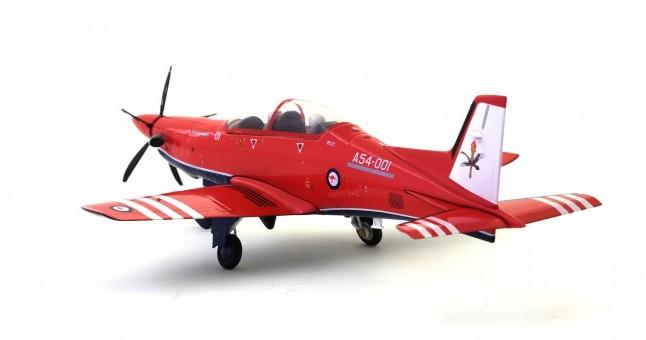 RAAF PC21 Pilatus PC-21, No 2 Flying Training School (2FTS), RAAF Base Pearce A54-00 Herpa 580342 Scale 1:72