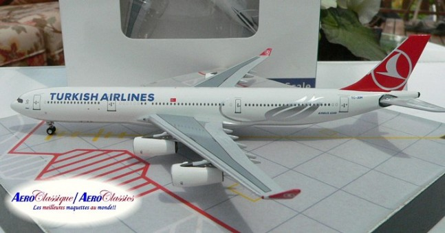Turkish Airlines A340-300   TC-JDM  Scale 1:400