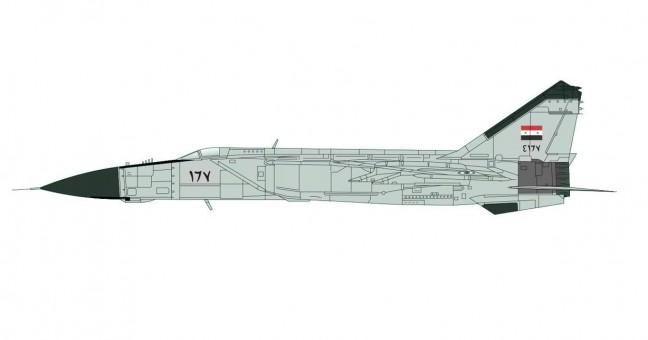 MIG-25PD 5th Aerial Squadron Syrian AAF Tiyaz AB 1985 HA5605 scale 1:72