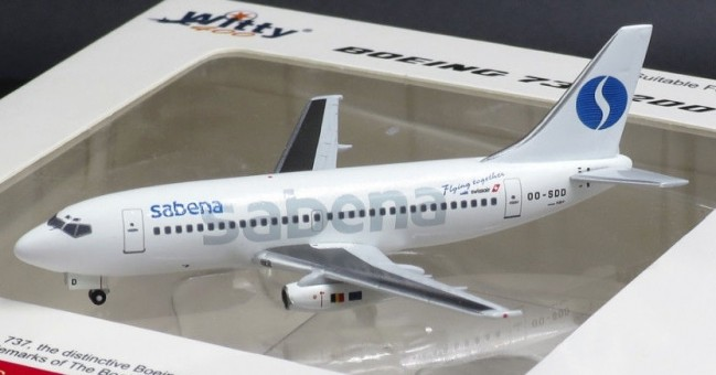Sabena Boeing B737-200 OO-SDD WT4732006 Witty Wings scale 1:400