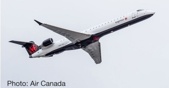 Air Canada Express Bombardier CRJ-900 die-cast Herpa 533164 scale 1:500
