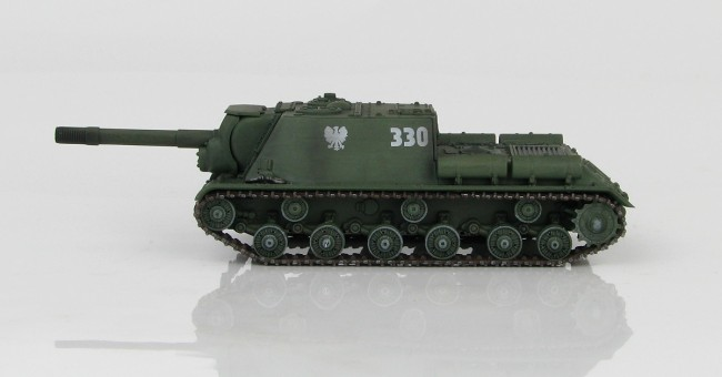 ISU-152 Tank Destroyer Polish People's Army Hobby Master HG7022 Scale 1:72