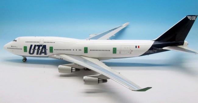 "UTA ""Big Boss"" Boeing 747-400 Reg# F-GEXB With Stand InFlight IF744UTA003 Scale 1:200"