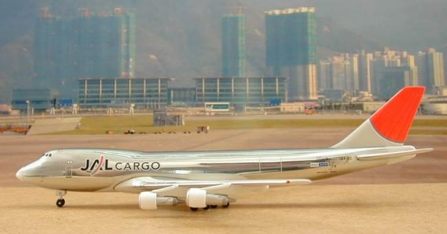 JAL Japan Airlines Boeing B747-246F JA8180 Chrome