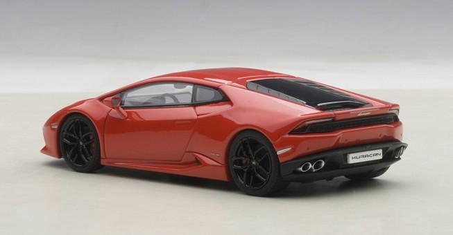 Red Lamborghini Huracan LP610-4 AUTOart 54604 Die-Cast Model 1:43