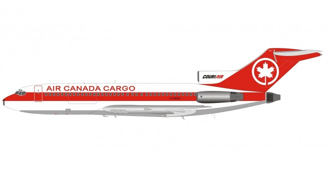 Air Canada Cargo Boeing 727-100 C-GAGX with stand B-721-AC-01 Inflight200/B-Models scale 1:200