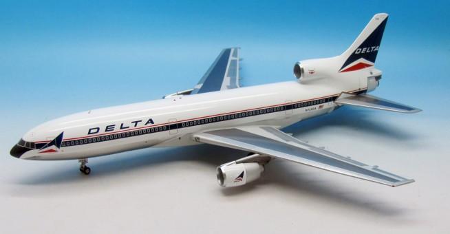 Exclusive! Delta L-1011 Polished Reg# N728DA Widget Aviation AV210110316P 1:200