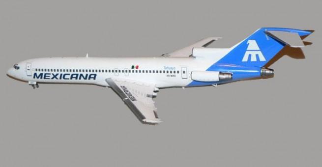"""Mexicana 727-200 """"Tehuayo"""" reg# XA-MXE jet-x 1:200"""