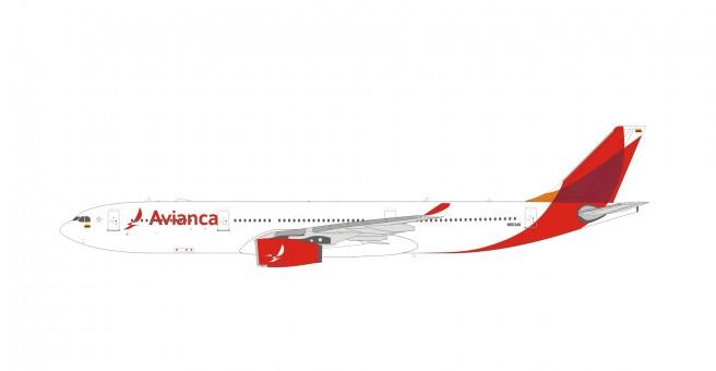 Avianca Airbus A330-300 N803AV 19015 die-cast scale 1:400