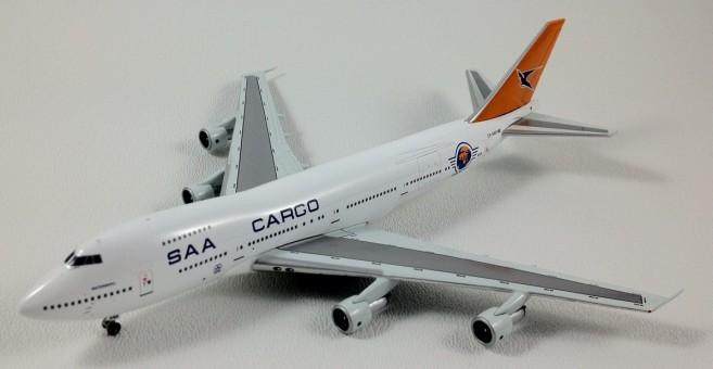 "South African Airways Cargo (SAA Cargo) 747-200 ZS-SAR ""WATERBERG"" Jet-X 1:400 JET-604C"
