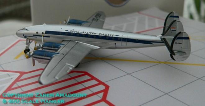 SAA - South African Airways  Lockheed L-749 ZS-DBR