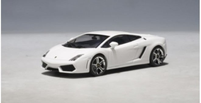 SALE! Lamborghini Gallardo Lp560-4 White AUTOArt 54617 scale 1:43