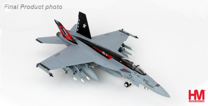 "F/A-18E Super Hornet ""166434,"" VFA-14 ""Tophatters,"" 90th Anniversary 2009 HA5101 Scale 1:72"