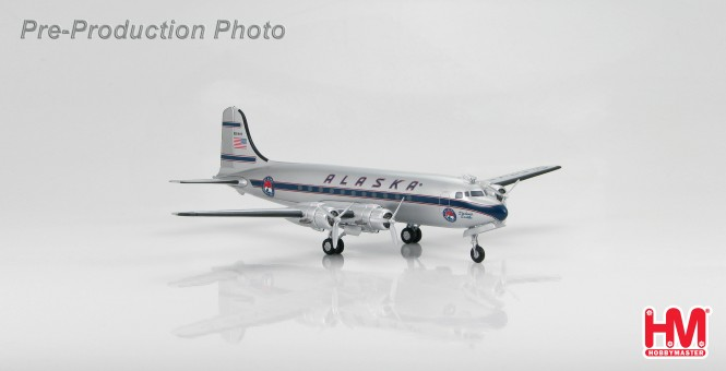 Alaska Airlines Douglas DC-4 Reg# N90449 Hobby Master HL2015 Scale 1:200