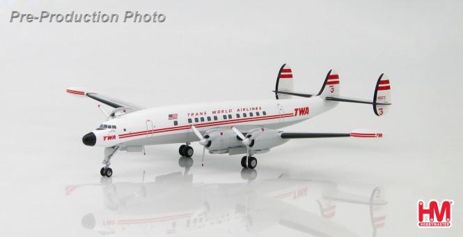 "TWA Lockheed L-1049 Super Constellation Reg N6937C ""Star of America"" HL9015 Hobby Master 1:200"