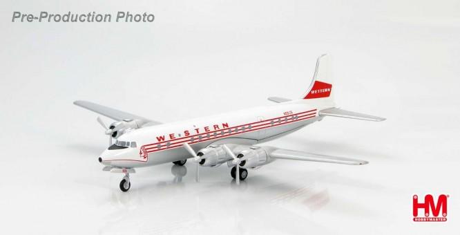 Western Airlines Douglas DC-6B Reg# N93126 HL5011 1:200