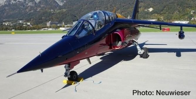 Flying Bulls Dassault-Breguet/Dornier Alpha Jet A Herpa 580496 scale 1:72