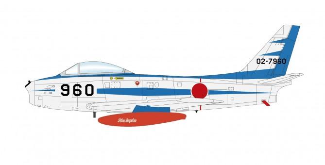 "JASDF Japan Sabre F-86F (MK.31) Sabre ""Blue Impulse"" Hobby Master HA4318 scale 1:72"
