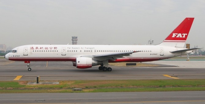FAT Far Eastern Transport Boeing 757-200W B-27017 JC EW4752003 1:400