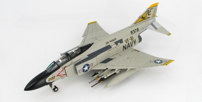 """Freelancers"" F-4J Phantom II US Navy VF-21 8378 1974 NE Hobby Master HA1996 Scale 1:72"