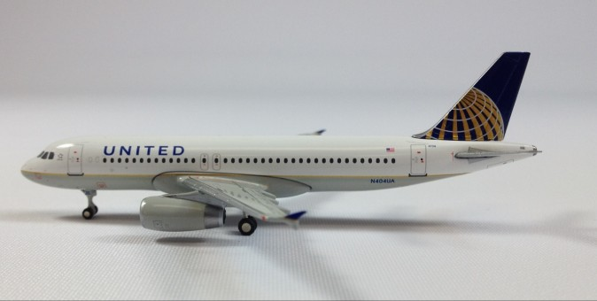United Airlines A320-200 N404UA Post Merger Livery  1:400