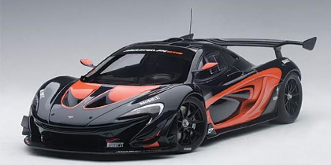 Mclaren P1 Orange >> Mclaren P1 Gtr Dark Metallic Gray With Orange Autoart 81543 Scale 1 18
