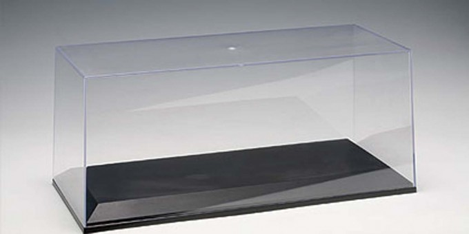 1-18 Clear Cover & Plastic Base Plate Set for AUTOart models 90001 Scale
