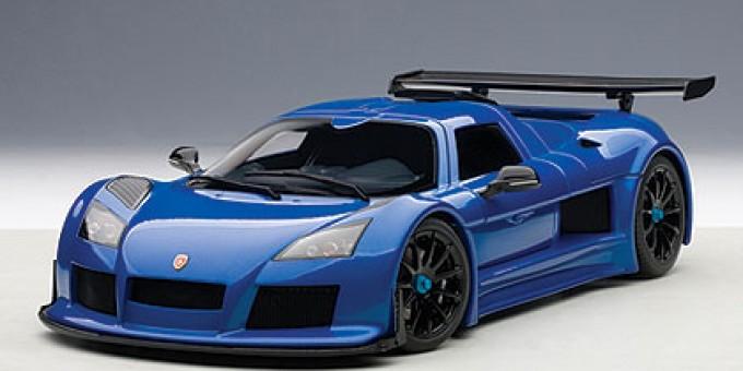 Blue GUMPERT APOLLO AUTOart AU71303 Scale 1:18