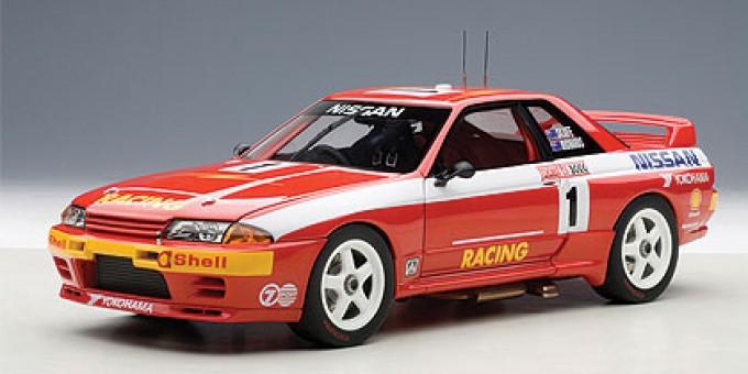 Nissan Skyline GT-R (R32) Australian Bathurst Winner 1992 Richards/ Skaife #1 AUTOart AU89279 Scale 1:18