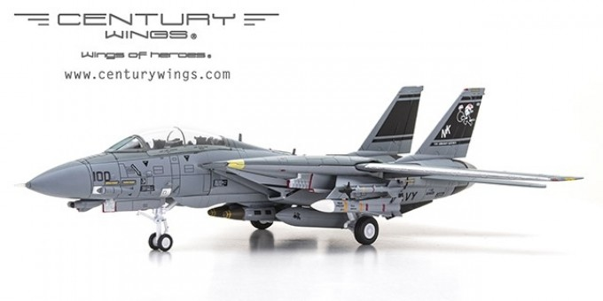 F-14D Tomcat USN VF-31 Tomcatters NK100 Santa Cat USS Century Wings CW-001633 scale 1:72