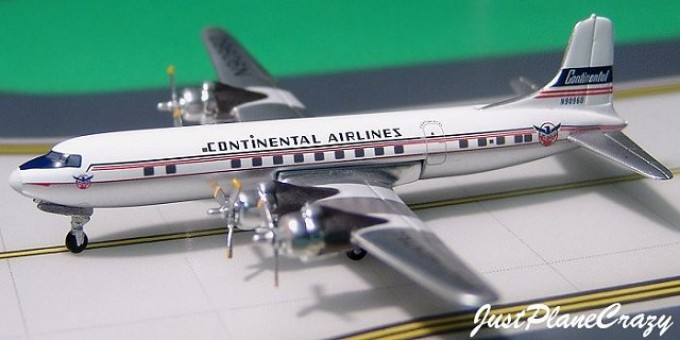 Continental Airlines DC-6 Reg# N90960   1:400