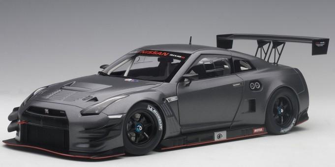 Nissan GT-R LM Nismo GT-3 dark matt gray AUTOart 81583 Scale 1:18