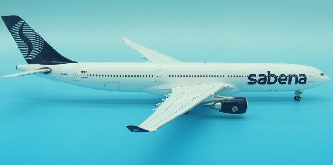 Sabena Airbus A330-300 Reg# OO-SFO With Stand Inflight IF3331216 Scale 1:200