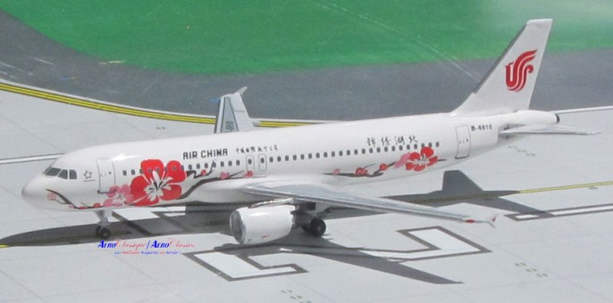 Air China Airbus A320 Registration B-6610 Aero Classic Scale 1:400