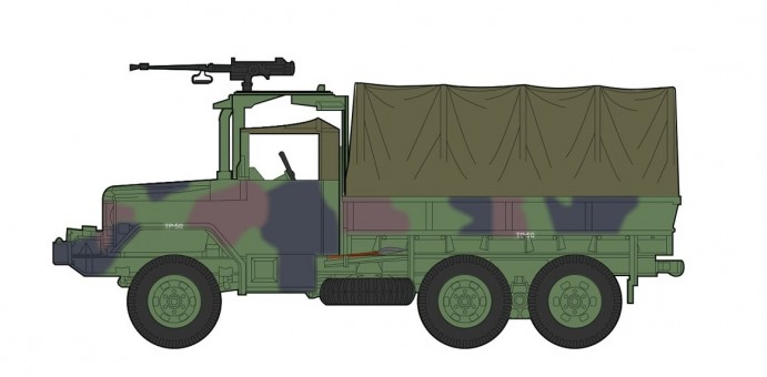 R.O.C.US Army M35 2.5 ton Cargo Truck Hobby Master HG5704 scale 1:72