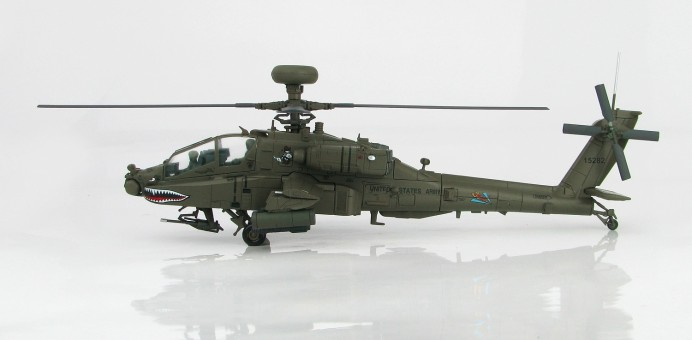 New Tool! AH-64D Longbow US Army helicopter metallic Hobby Master HH1201 scale 1:72