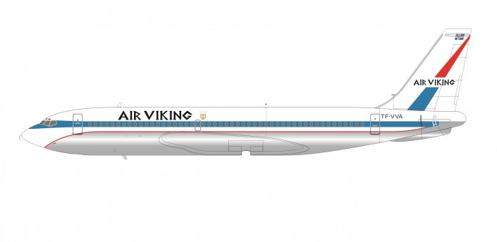 Air Viking Boeing B720 Registration TF-VVA SMA AC2-720A-K3-01 Scale 1:200