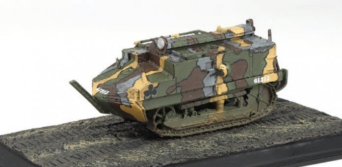 Schneider Tank Group AS 4, Juvincourt, 1918 Die-Cast Wings of the Great War WW10202 Scale 1:72