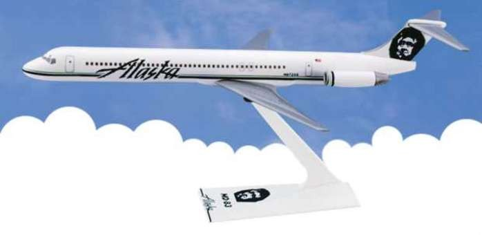 Flight Miniatures Alaska Airlines  McDonnell Douglas MD-80